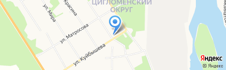 Аптечный пункт на карте Архангельска