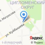 Строй-комфорт на карте Архангельска