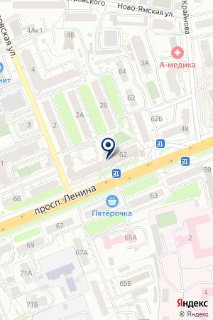 ДОПОЛНИТЕЛЬНЫЙ ОФИС № 8611/0168 СБЕРБАНК РОССИИ на карте Владимира