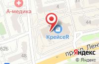 Схема проезда до компании Мюстела во Владимире