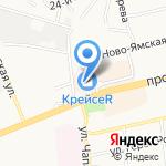 Компания по аренде манипулятора и автокрана на карте Владимира