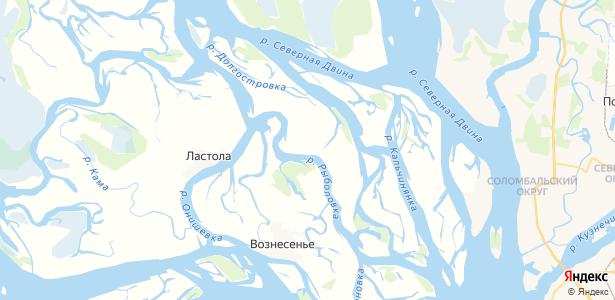 Нижнее Рыболово на карте