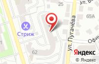 Схема проезда до компании Подшипник во Владимире