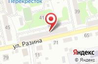 Схема проезда до компании ТСЖ №128 во Владимире