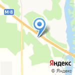Вигвам на карте Архангельска