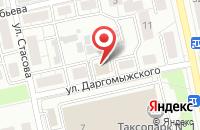 Схема проезда до компании Агентство Дизайна и Рекламных Технологий во Владимире