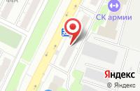 Схема проезда до компании Стальдвери во Владимире