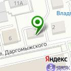Местоположение компании Адвокат Иванов Л.В.