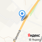 Автостоянка на карте Владимира