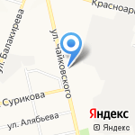 ДОРМАШ на карте Владимира
