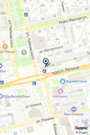 КБ РУСФИНАНС БАНК на карте Владимира