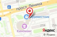 Схема проезда до компании Электробум в Гурьевске