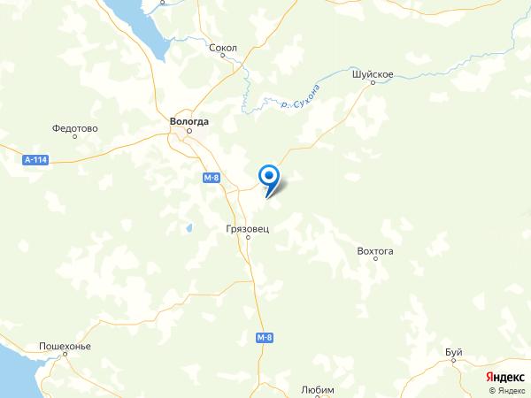 деревня Новый Дор на карте