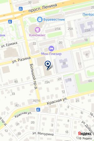 АКБ ВТБ на карте Владимира