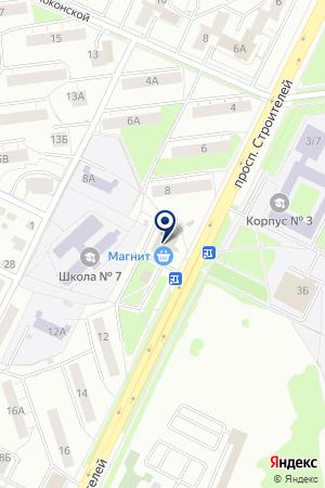 АПТЕКА ЦЕНТР ФАРМ на карте Владимира