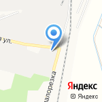 Владимир-Лессервис на карте Владимира