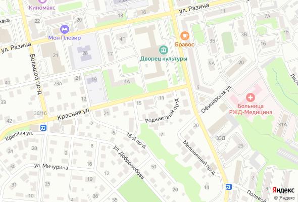 продажа квартир по ул. Красная, д. 13