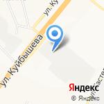 Техдеталь на карте Владимира