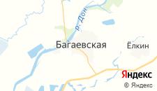 Гостиницы города Багаевская на карте