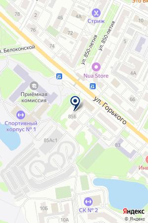 ДОПОЛНИТЕЛЬНЫЙ ОФИС № 8611/056 СБЕРБАНК РОССИИ на карте Владимира