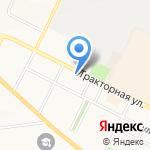 Автолига 33 на карте Владимира