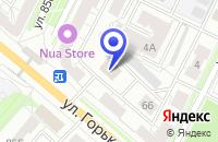 Схема проезда до компании ВЛАДАЙТИСЕРВИС во Владимире