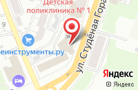 Схема проезда до компании Сити Групп во Владимире