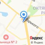 НБ Траст на карте Владимира