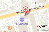 Схема проезда до компании Виктория Принт во Владимире