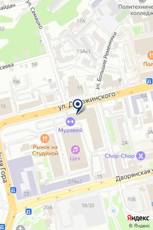 СКЛАД ТЕХНИКА ВЗПО на карте Владимира