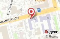 Схема проезда до компании Аст во Владимире