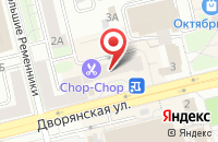 Схема проезда до компании Граф Цеппелин во Владимире