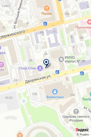 УЧЕБНЫЙ ЦЕНТР ПРОФИ на карте Владимира