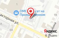 Схема проезда до компании РосХимВолокно в Беляниново