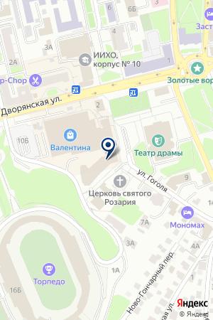 ГЛАВНЫЙ РАСЧЕТНО-КАССОВЫЙ ЦЕНТР ЦБ РФ ПО ВЛАДИМИРСКОЙ ОБЛАСТИ на карте Владимира