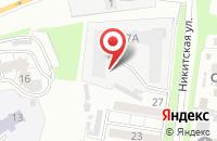 Схема проезда до компании Аква во Владимире