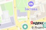 Схема проезда до компании Академия вкуса во Владимире