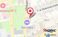 Схема проезда до компании За Родину во Владимире