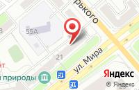 Схема проезда до компании Центр продажи медицинской реабилитационной техники во Владимире