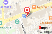 Схема проезда до компании Фитч во Владимире