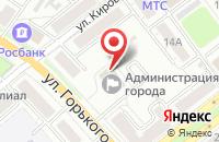 Схема проезда до компании Финансовое управление во Владимире