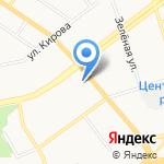 Мир кирпича и железобетона на карте Владимира