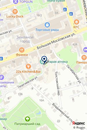 АПТЕКА ФАРМАЦИЯ на карте Владимира
