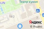 Схема проезда до компании Связной во Владимире