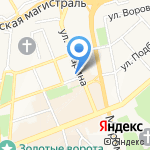 Top Gun на карте Владимира