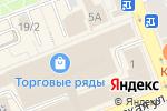 Схема проезда до компании Business World во Владимире