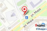 Схема проезда до компании Региональный информационно-издательский Центр во Владимире