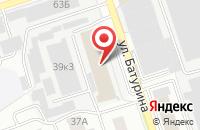 Схема проезда до компании Наш Город во Владимире