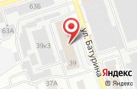Схема проезда до компании Простор Медиа Груп во Владимире