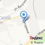 Монолит на карте Владимира